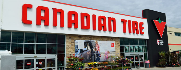 Canadian Tire Near Me